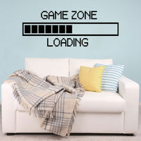 Game Zone Loading Gamer Wall Decor