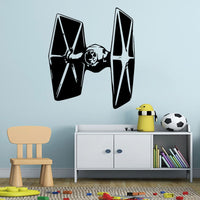 Star Wars Tie Fighter Vinyl Wall Decal Art Various Colour & Size Options Available