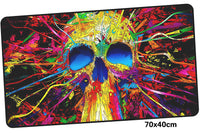 Hotline Miami Psychedelic Skull Large Mouse Pad 700x400mm Best PC Gaming Pad HD Print