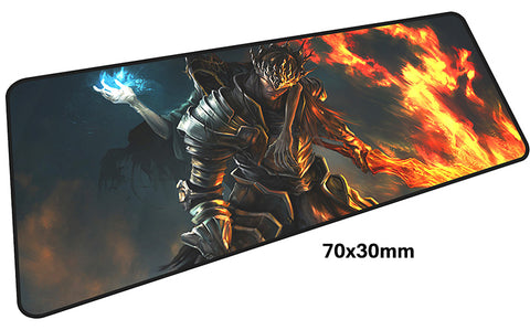 Dark Souls Flame Large Mouse Pad 700x300mm Best PC Gaming Pad HD Print