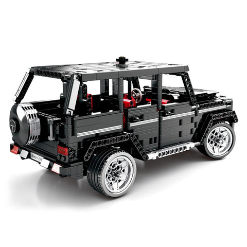Technical Blocks 1343pcs Legoed City Motor Toys Car Block Simulation Merceding-Benzs Big G Model for Kid Birthday Legoing Gifts