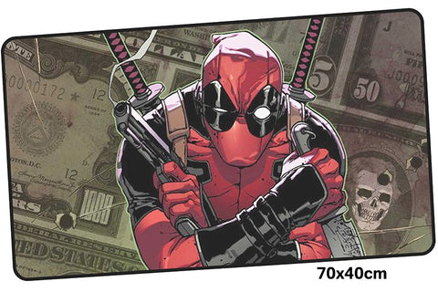 Deadpool Cartoon Version Large Mouse Pad 700x400X3mm Best PC Gaming Pad HD Print