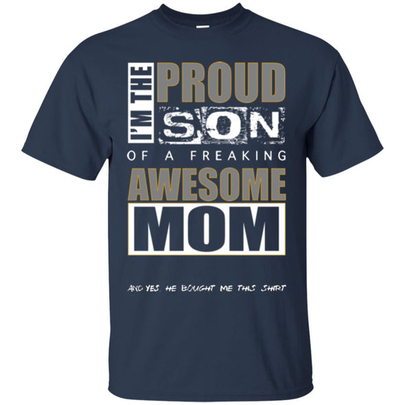 Men T-Shirt (Front) - Proud Son of Mom