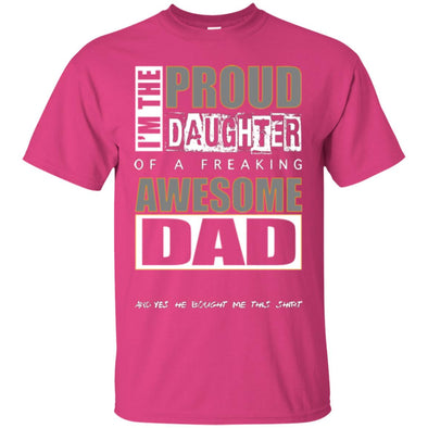 Men T-Shirt (Front) - Proud Daughter of Dad