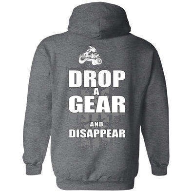 Hoodie (Back) - Drop a Gear Dirt Quad