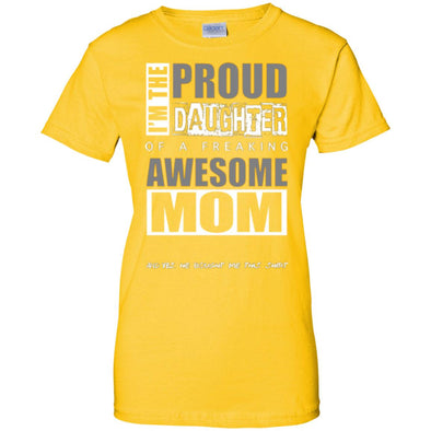 Women T-Shirt (Front) - Proud Daughter of Mom