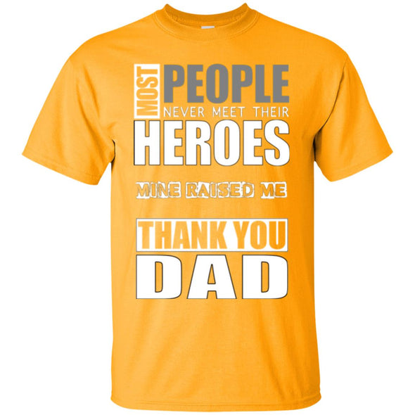 Men T-Shirt (Front) - Heroes Dad
