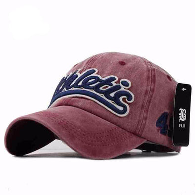 Athletic Washed Denim Baseball Cap  a4baf8dbb505