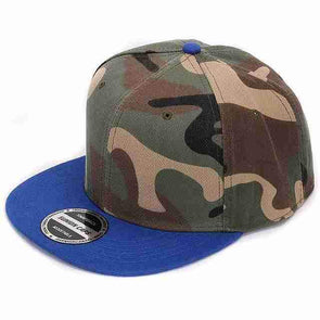 Camo Hip Hop Cap | Blue-Caps-SHED71-SHED71