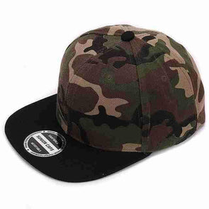 Camo Hip Hop Caps | Black-Caps-SHED71-SHED71