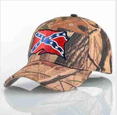Camo Rebel Cap | One Flag-Caps-SHED71-SHED71