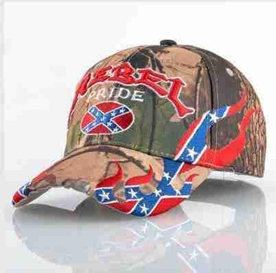 Camo Rebel Cap | Pride-Caps-SHED71-SHED71