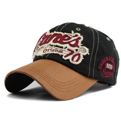 Cane's Original 70 Baseball Cap | Black-Caps-SHED71-70 Black-SHED71