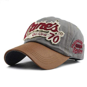 Cane's Original 70 Baseball Cap | Gray-Caps-SHED71-70 Gray-SHED71