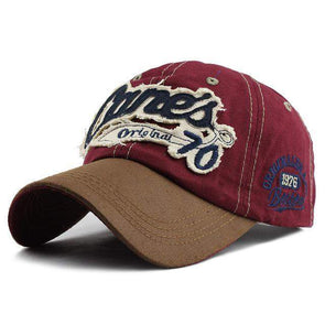Cane's Original 70 Baseball Cap | Red-Caps-SHED71-70 Red-SHED71