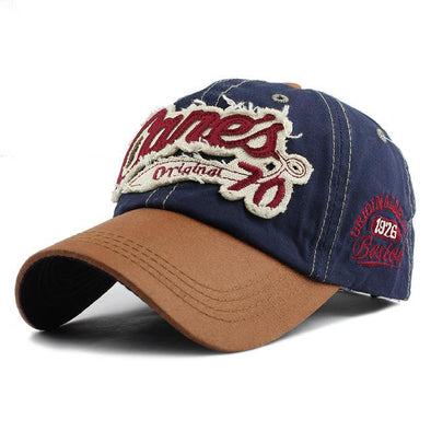 Cane's Original 70 Baseball Cap | White-Caps-SHED71-70 Navy-SHED71