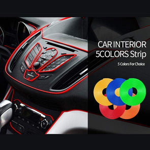 Car Interior Flexible Color Strip | No Adhesive-Accessories-SHED71-SHED71