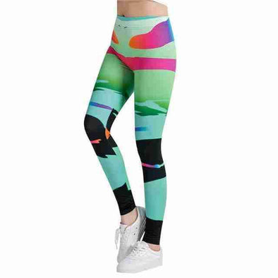 Casual Leggings | Abstract 7-Leggings-SHED71-SHED71