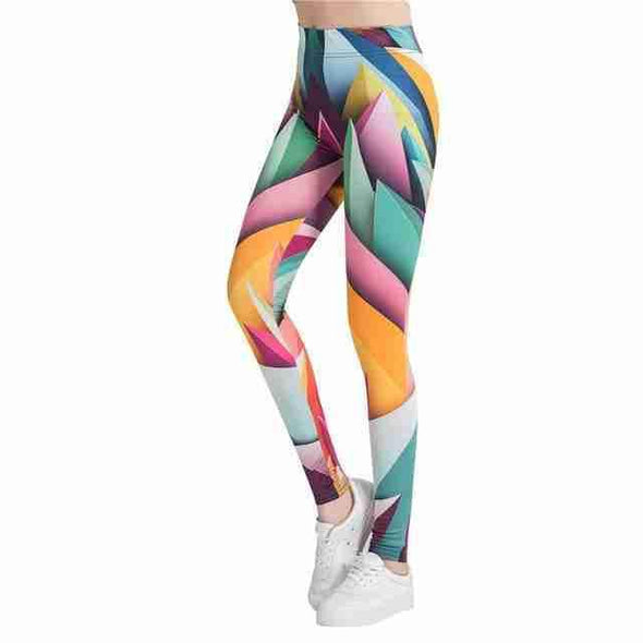 Casual Leggings | Abstract 9-Leggings-SHED71-SHED71