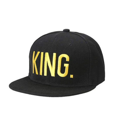 "Fashion ""King & Queen"" Hip Hop Cap 