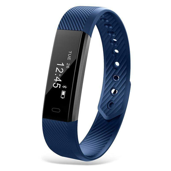 Fitness Bluetooth Smart Watch | Blue-Watches-SHED71-blue-SHED71