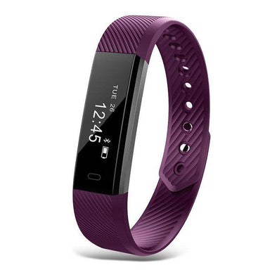 Fitness Bluetooth Smart Watch | Purple-Watches-SHED71-purple-SHED71