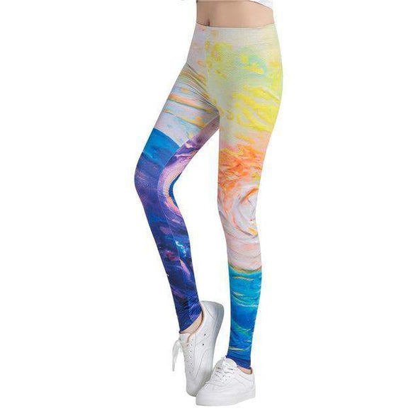Fitness or Casual Leggings | Abstract 11-Leggings-SHED71-SHED71