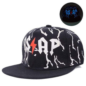 Fluorescent Light Series Hip Hop Cap | Blue Asap-Caps-SHED71-SHED71