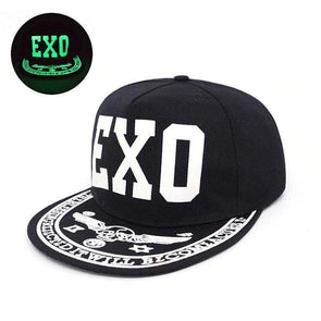 Fluorescent Light Series Hip Hop Cap | Green EXO-Caps-SHED71-SHED71