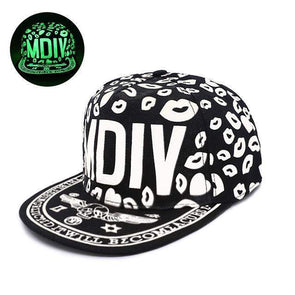 Fluorescent Light Series Hip Hop Cap | Green MDIV-Caps-SHED71-SHED71