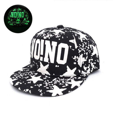 Fluorescent Light Series Hip Hop Cap | Green No!No-Caps-SHED71-SHED71