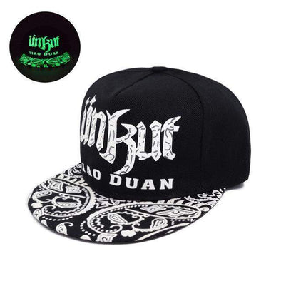 Fluorescent Light Series Hip Hop Cap | Green Ünkut-Caps-Urban Poppies-SHED71