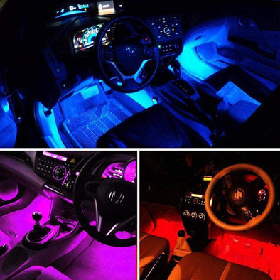 RGB LED Strip Lights for Car Interior with Remote-Gadget-SHED71-SHED71