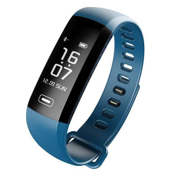 Smart Fitness Watch with Medical Support + 50 Word Information | Blue-Watches-SHED71-SHED71