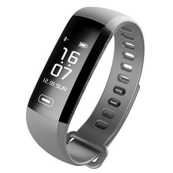 Smart Fitness Watch with Medical Support + 50 Word Information | Gray-Watches-SHED71-SHED71