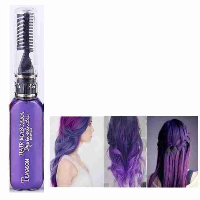 Temporary DIY Hair Dye Color | Purple – SHED71