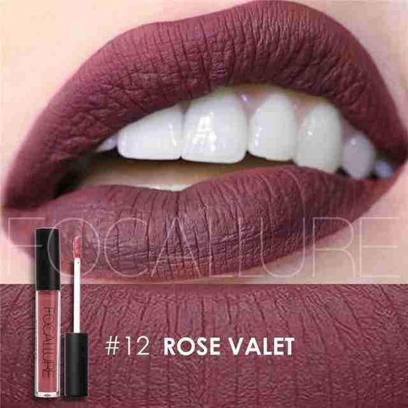 Waterproof Long-Lasting Liquid Lipstick | Rose Valet Matte-Beauty-SHED71-SHED71