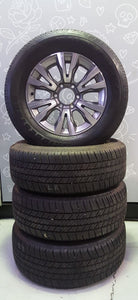 "(NEAR NEW SET) 18"" HOLDEN TRAILBLAZER LTZ 6X139.7 & 265/60R18 BRIDGESTONE DUELER"