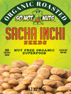 Sacha Inchi Seeds 12.6oz - NUT FREE ORGANIC ROASTED SUPERFOOD - HIGH PROTEIN & OMEGA - NON GMO
