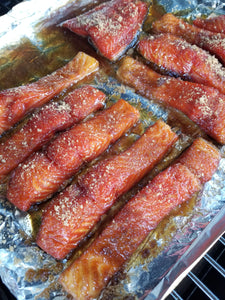 Calamity's Bourbon Brown Sugar Smoked Salmon