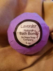 Napa Valley Soap Co.-Bath bomb-Lavender