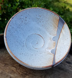 Small White Stoneware Bowl