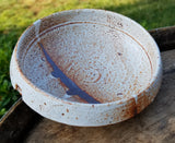Medium White Stoneware Bowl