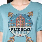 Pueblo Petroleum Top  Blue Sky