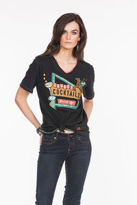 Cowboy Cocktails Tee by Double D Ranch