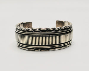 Phillip Guerro Yellowhorse Sterling Silver Cuff