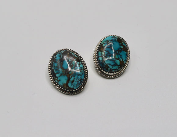 Turquoise Earrings Clip On