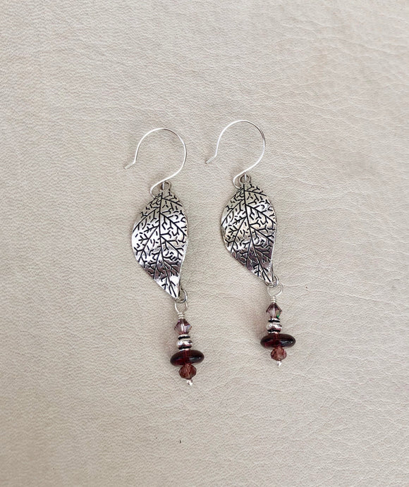 Pretty Plum Earrings