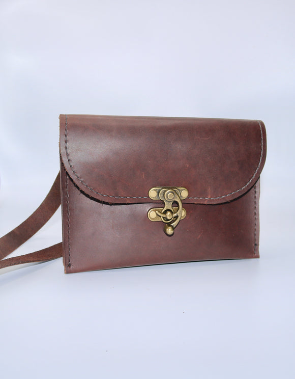 Napa Brown Saddle Leather