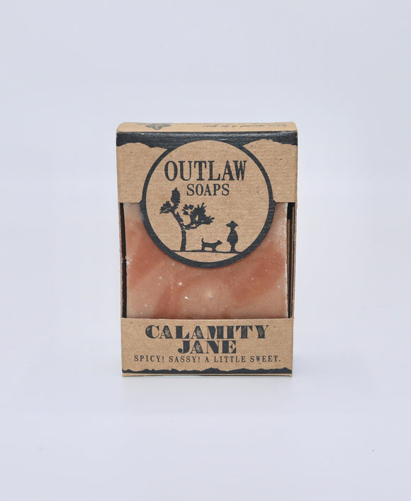 Calamity Jane Handmade Bar Soap by Outlaw Soaps